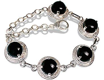 Design 12260: black onyx bracelets