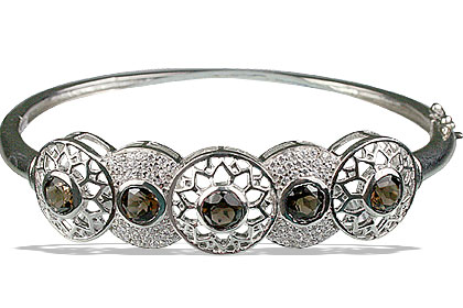 Design 13327: brown,white cubic zirconia bangles bracelets
