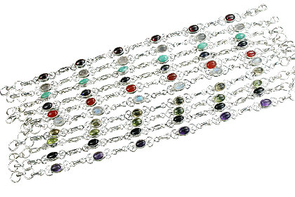 Design 14360: multi-color bulk lots bracelets