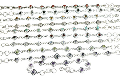 Design 14365: multi-color bulk lots bracelets
