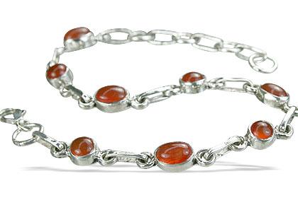 Design 14488: orange carnelian bracelets