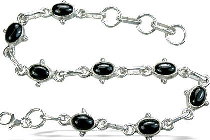 Design 14517: black black onyx bracelets