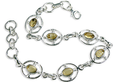 Design 14531: yellow citrine bracelets