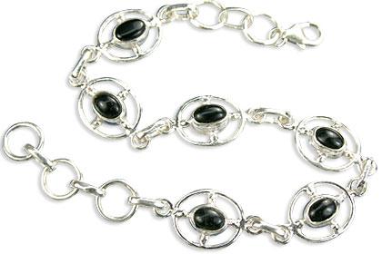 Design 14536: black black onyx bracelets