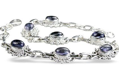Design 14608: blue iolite bracelets