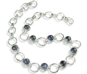 Design 14627: blue iolite bracelets