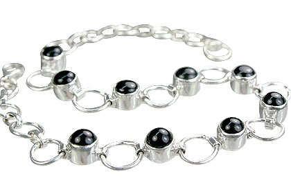 Design 14632: black black onyx bracelets