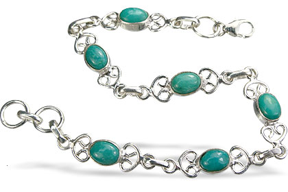 Design 14639: blue,green turquoise bracelets