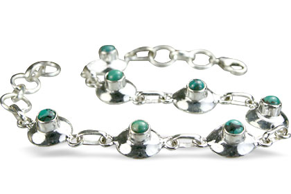Design 14658: blue,green turquoise bracelets