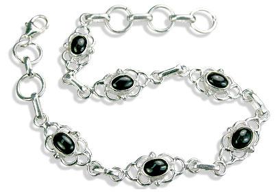 Design 14673: black black onyx bracelets