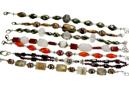 Design 16198: multi-color bulk lots bracelets