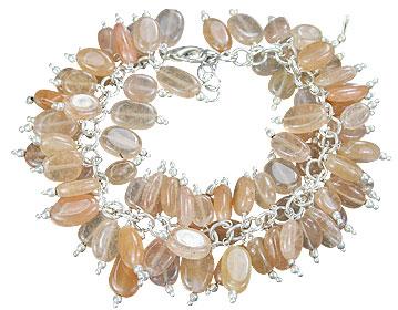 Design 16476: pink aventurine bracelets