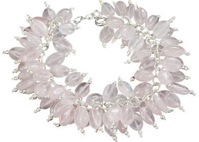 Design 16481: pink aventurine bracelets
