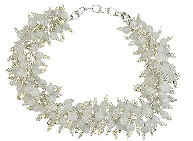 Design 16489: white aventurine bracelets