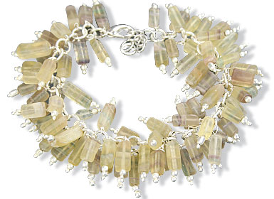 Design 16492: yellow aventurine bracelets