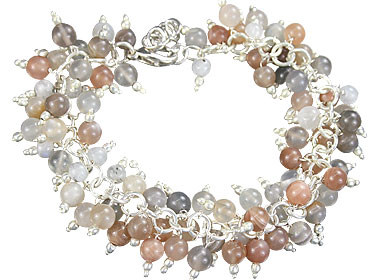 Design 16525: multi-color aventurine bracelets