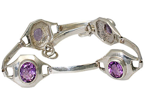 Design 9584: purple amethyst bracelets
