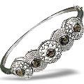 custom silver bracelets