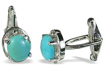 Design 14800: blue turquoise cufflinks