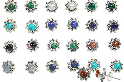 Design 15234: multi-color bulk lots earrings