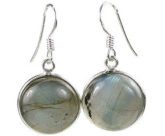 Design 16169: blue,green labradorite contemporary earrings
