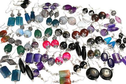 Design 16433: multi-color bulk lots earrings