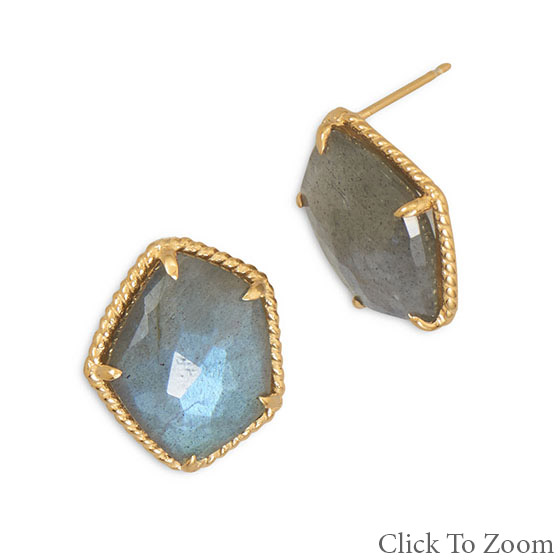 Design 21753: gray turquoise earrings