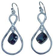 Design 20236: Purple mystic topaz earrings