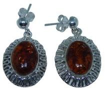 Design 20275: Yellow amber earrings