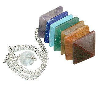 Design 10582: multi-color multi-stone chakra healing