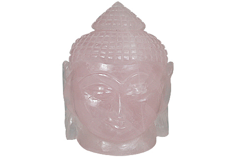 Design 11217: pink rose quartz buddha healing