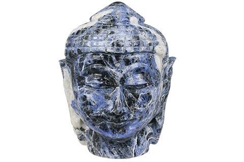 Design 11218: blue sodalite buddha healing