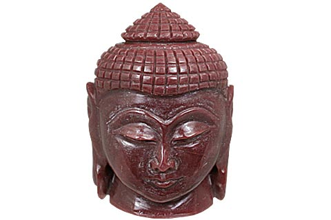 Design 11219: red jade buddha healing