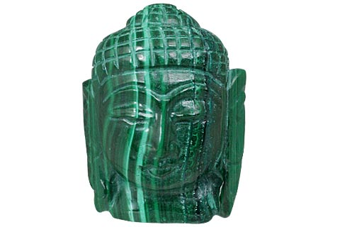 Design 11223: green malachite buddha healing