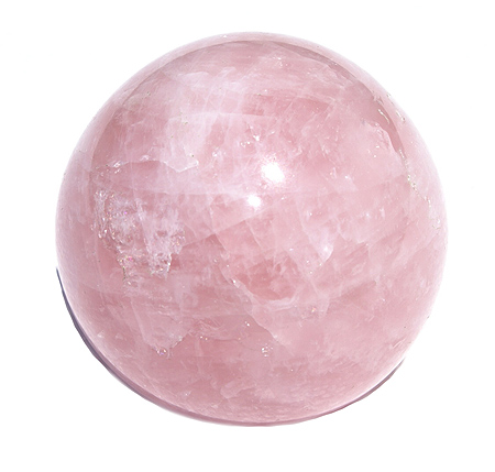Design 11343: pink rose quartz spheres healing