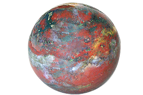 Design 11347: multi-color bloodstone spheres healing