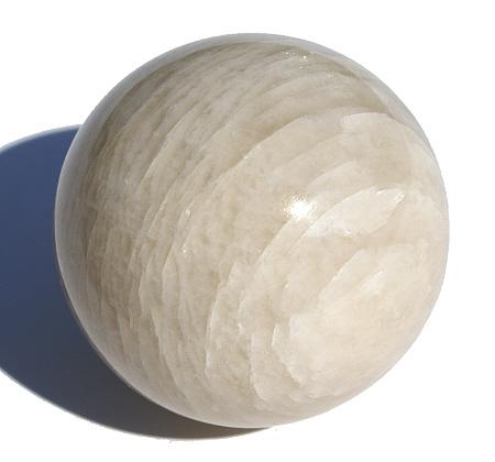 Design 11679: white moonstone spheres healing