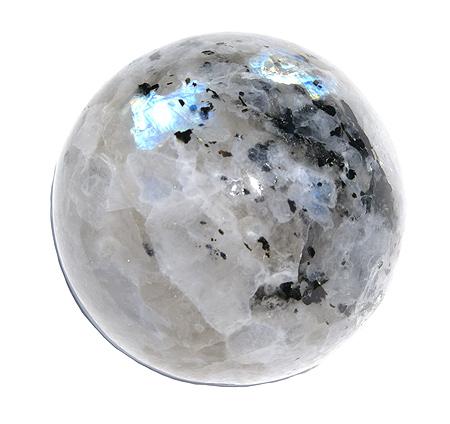 Design 11720: white moonstone spheres healing