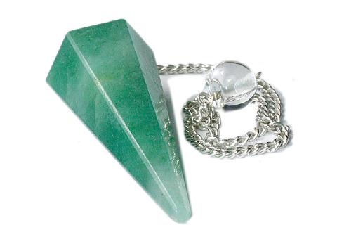 Design 9612: green aventurine pendulum healing