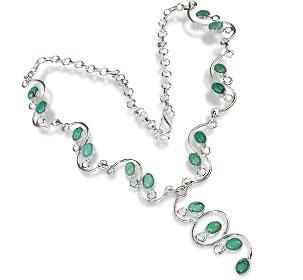 Design 10745: blue turquoise necklaces