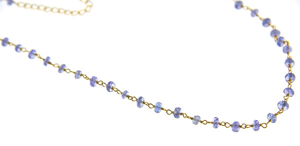 Design 12370: blue,purple tanzanite pendant necklaces