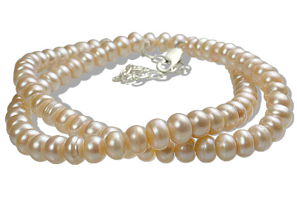 Design 12603: pink pearl necklaces