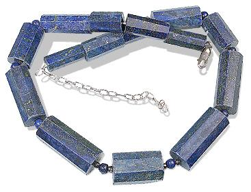 Design 12755: blue lapis lazuli necklaces