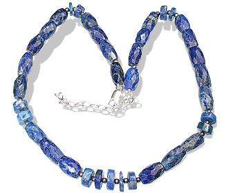 Design 12768: blue lapis lazuli necklaces
