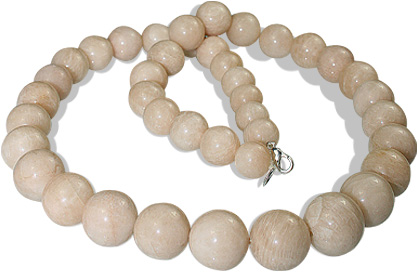 Design 12888: pink moonstone necklaces