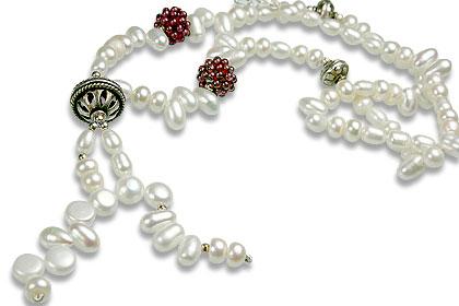 Design 13267: multi-color multi-stone classic necklaces