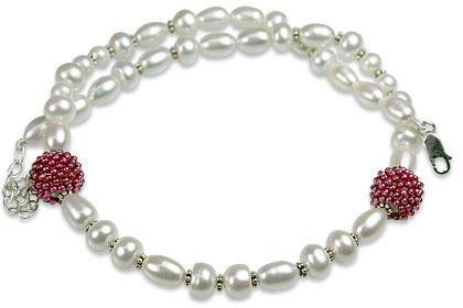Design 13274: multi-color multi-stone classic necklaces