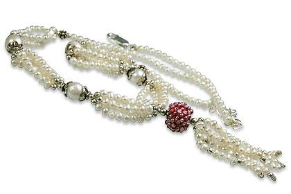 Design 13282: multi-color multi-stone classic necklaces
