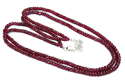 Design 14562: red ruby necklaces