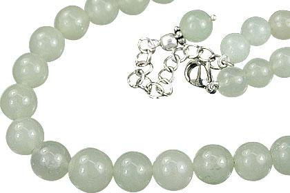 Design 14848: green aventurine necklaces